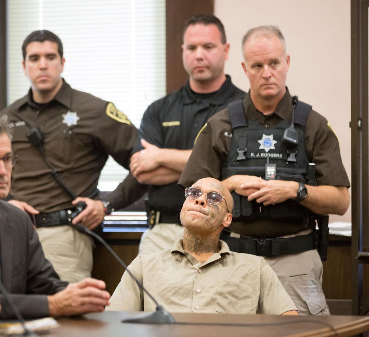 Nikko Jenkins at sentencing
