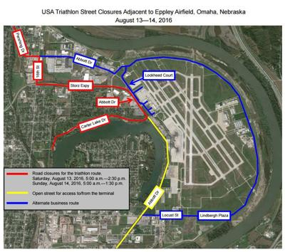 Road closures for triathlon will make for a tricky drive to ...