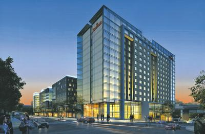 10th Street and Capitol Avenue hotel rendering