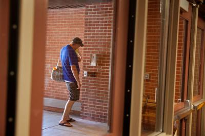 Locked Doors Buzz In Systems For Visitors Part Of Er School Security