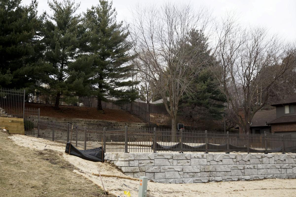 plan for backyard athletic court angers west omaha neighbors omaha