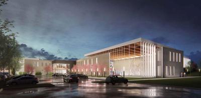 Papillion community center rendering