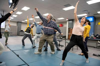 Creighton PT students use tai chi, yoga and pilates to help patients with Parkinson's disease (sponsored)