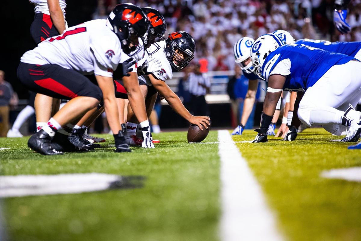 A 5-foot-7 lineman, 'Deuce' Miller-Johnston is the center of attention for undefeated Westside