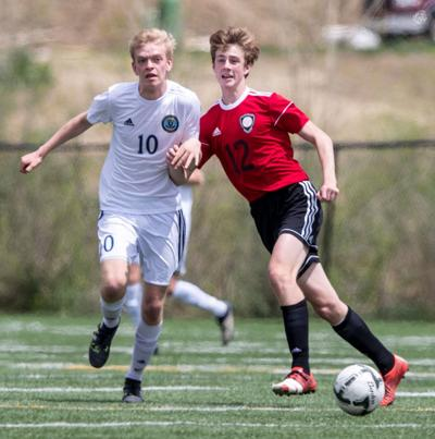 Class B No. 1 Elkhorn South boys edge Mount Michael, clinch spot in state soccer tournament