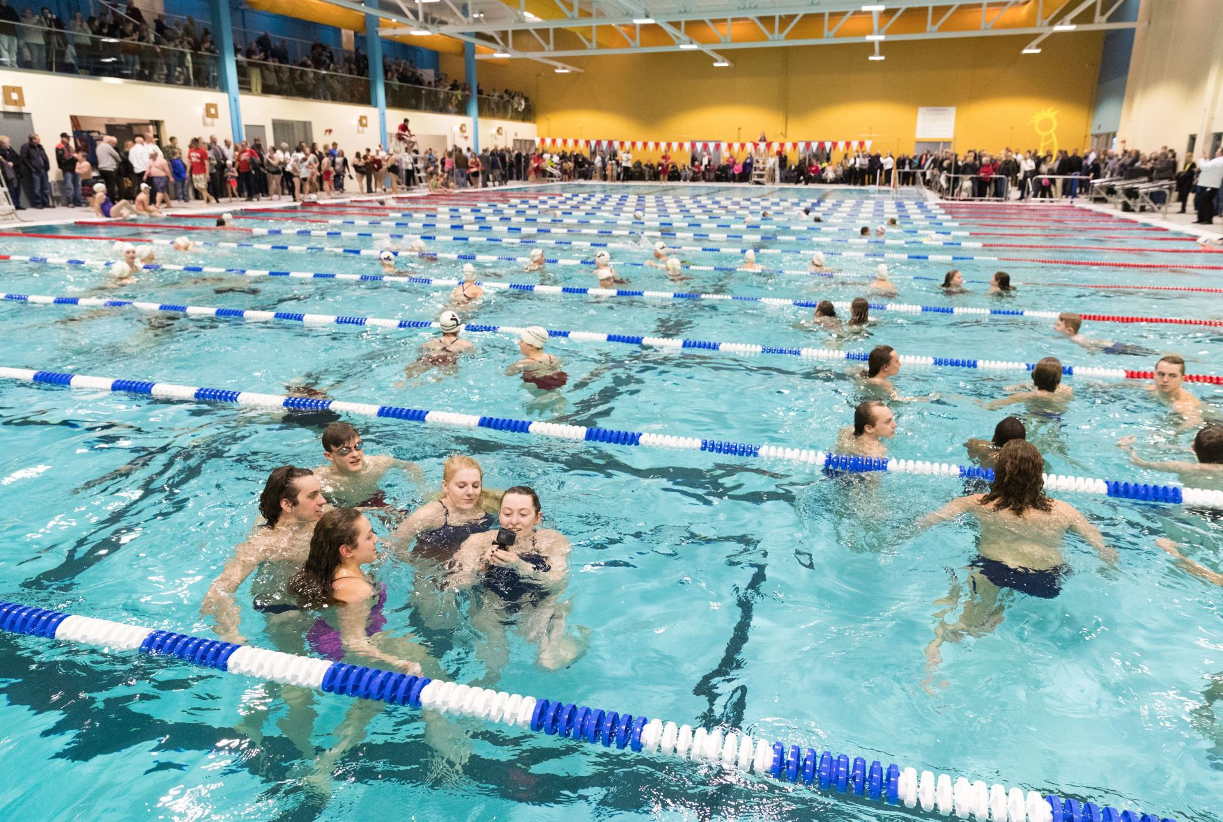 Fremont YMCA unveils Olympic size indoor pool, one of few in