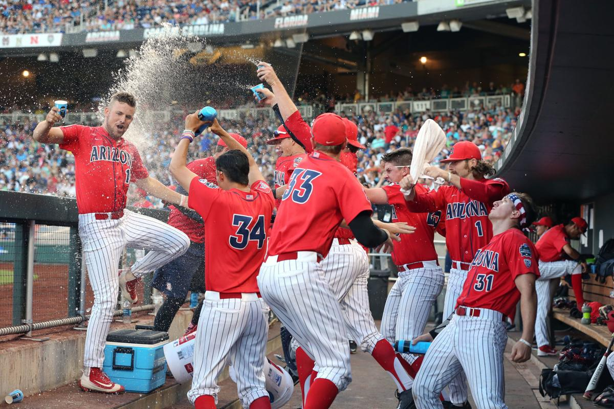 Who doesn't love to have fun at the CWS? Dugout shenanigans are an Omaha mainstay