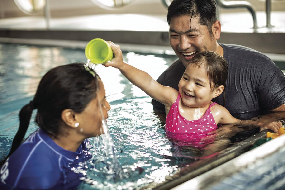 Family fun at the YMCA of Greater Omaha