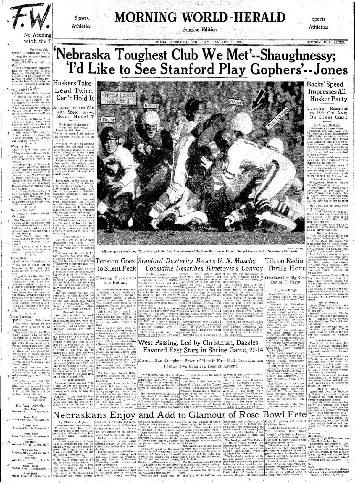 1940 Rose Bowl cover