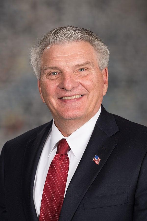 John Stinner mug senators