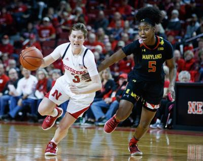 Husker Hannah Whitish earns All-Big Ten honorable mention