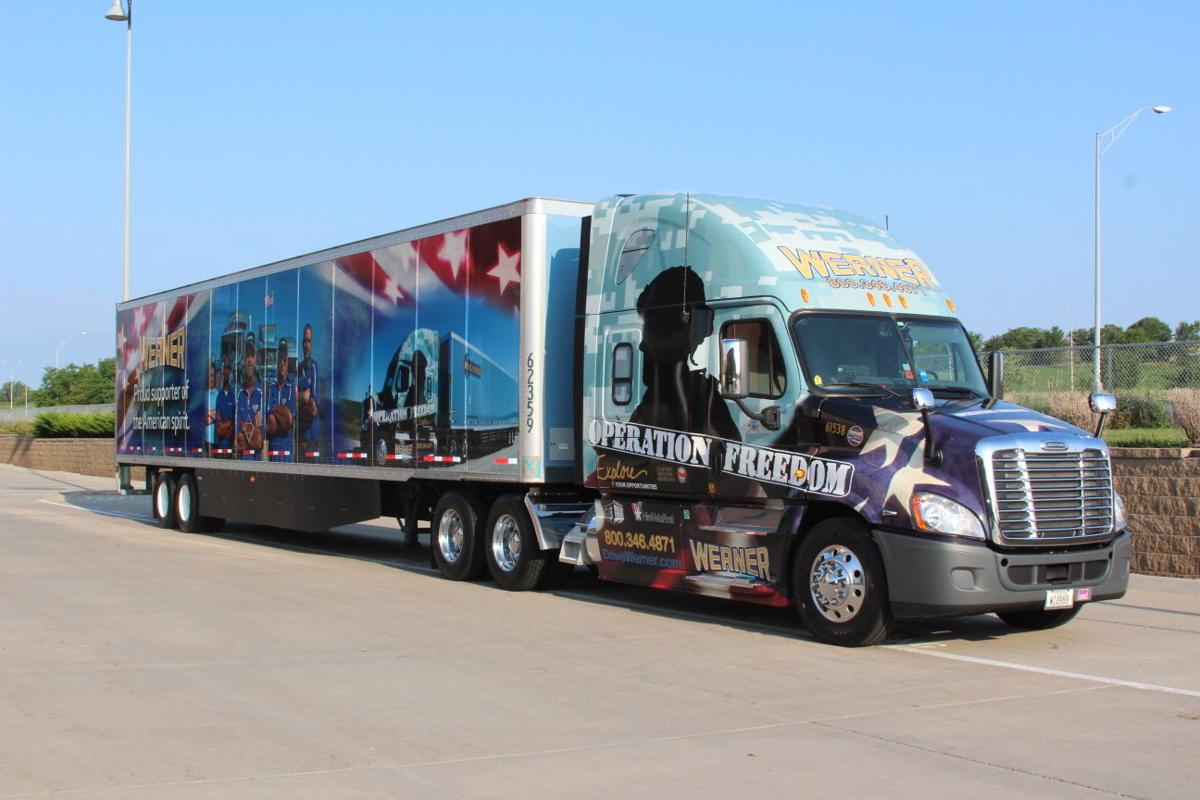 Navy vet will drive werner s third operation freedom truck