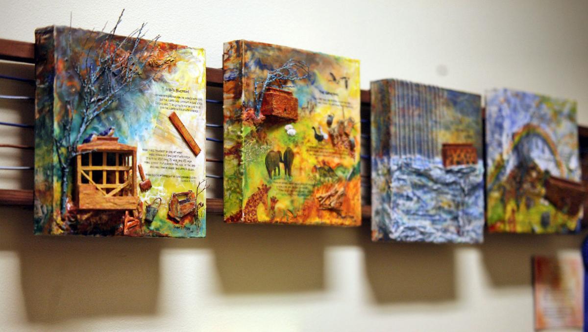 Biblical art focus of downtown art gallery
