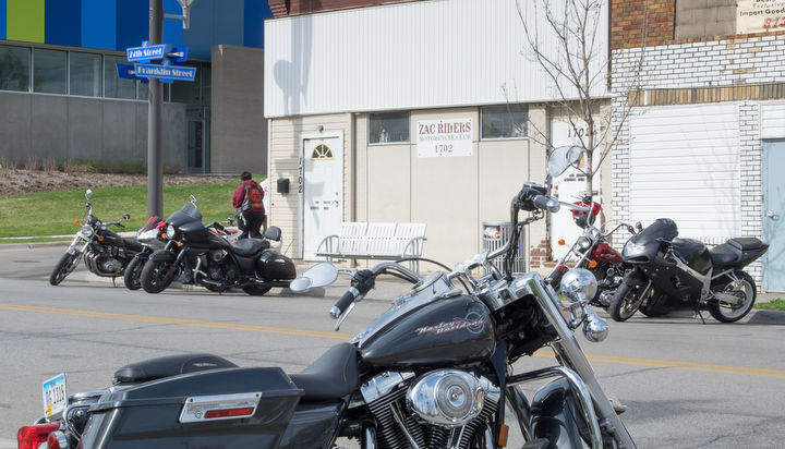 motorcycle shooting today  Two men shot, killed outside motorcycle club   Crime