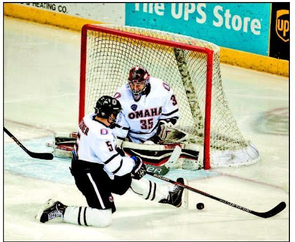Mavericks' Weninger NCHC goalie of week
