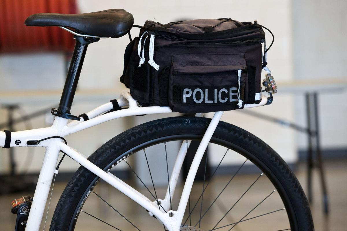 At training seminar for bike patrol officers, police find