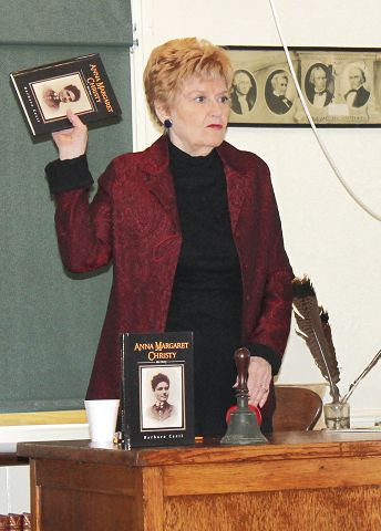 Former chamber chief recounts her grandmother's pioneer life