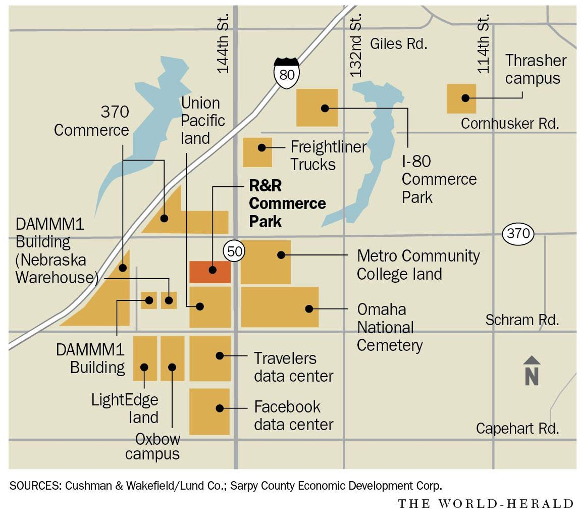 E Commerce Site Map: R&R Commerce Park To Transform 80 Acres Of Raw Land Into 1