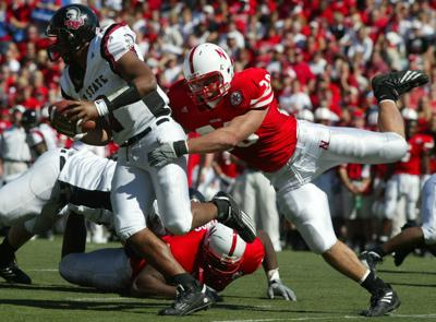 Former Huskers teammates say new assistant Barrett Ruud always in the middle