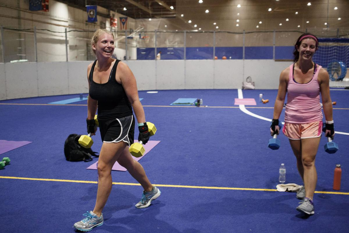 With husband overseas, wife loses 40 pounds   Meet Me at the Gym