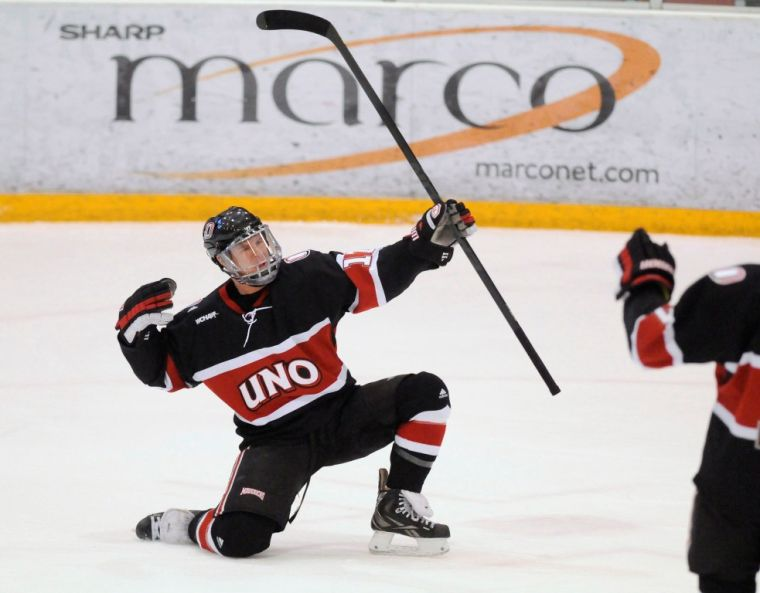 Hobey hype building for Mavs' Walters