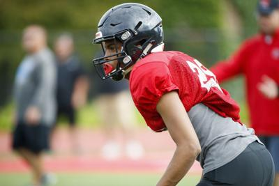 Practice report: Behind Avante Dickerson and Cole Payton, Warriors are aiming high in 2019