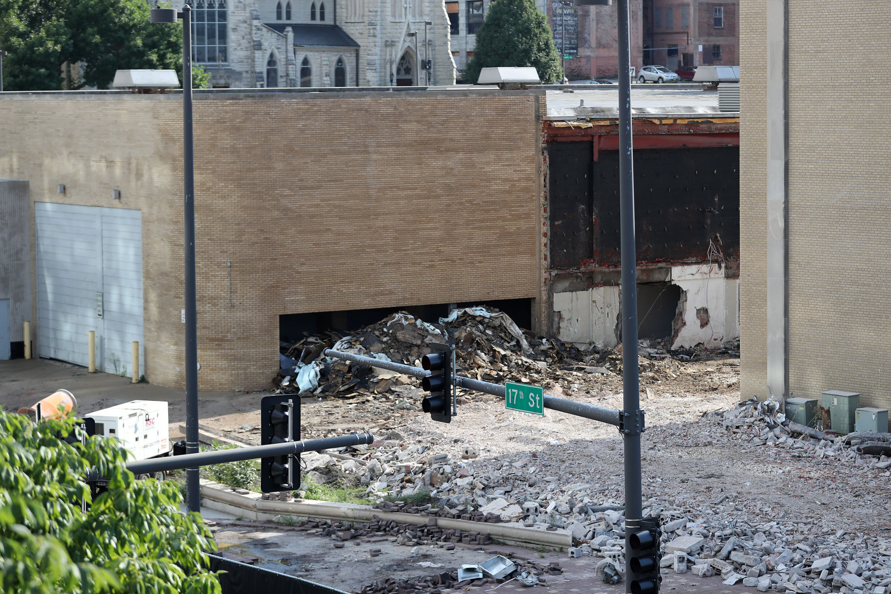 building superintendent resume%0A After delays  demolition of Omaha u    s Civic Auditorium is underway   Omaha  Metro   omaha com