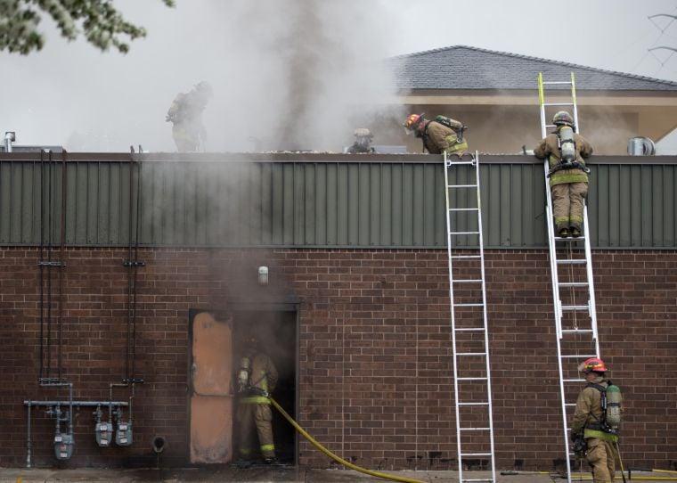 Firefighters battle nail spa fire | News | omaha.com