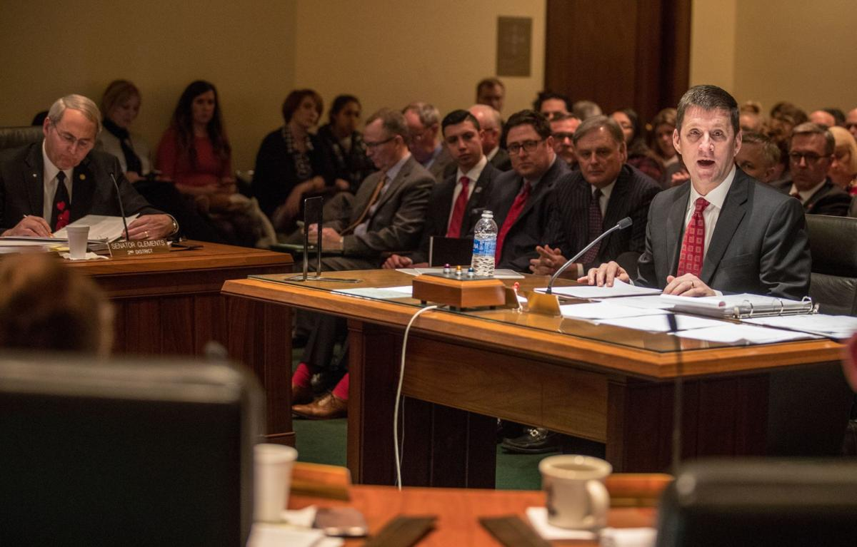 Appropriations Committee hearing