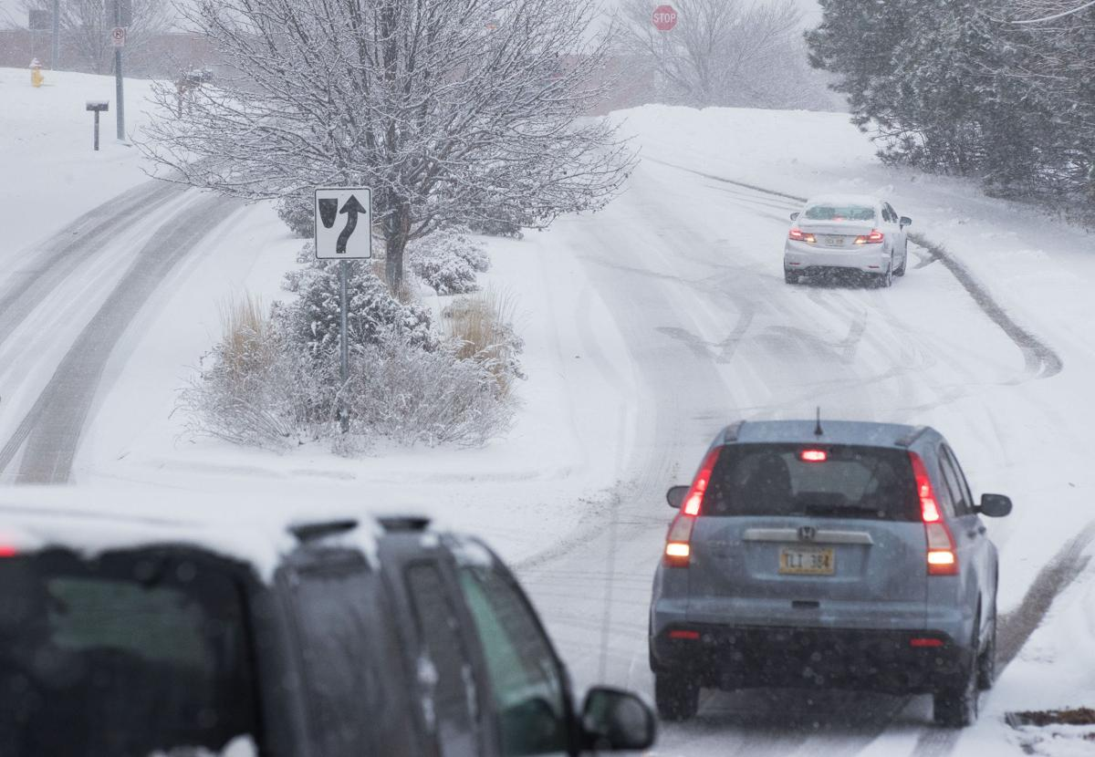 Morning commute in omaha lincoln turned slick as temperatures dropped weather omaha com