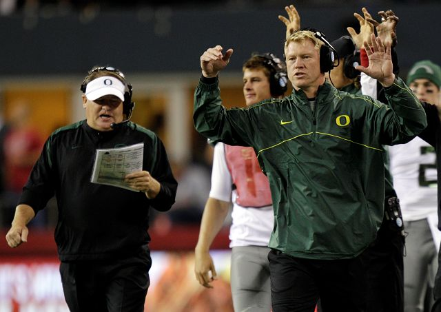 It's official: Frost to lead Ducks offense, QBs
