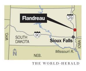 Flandreau_map