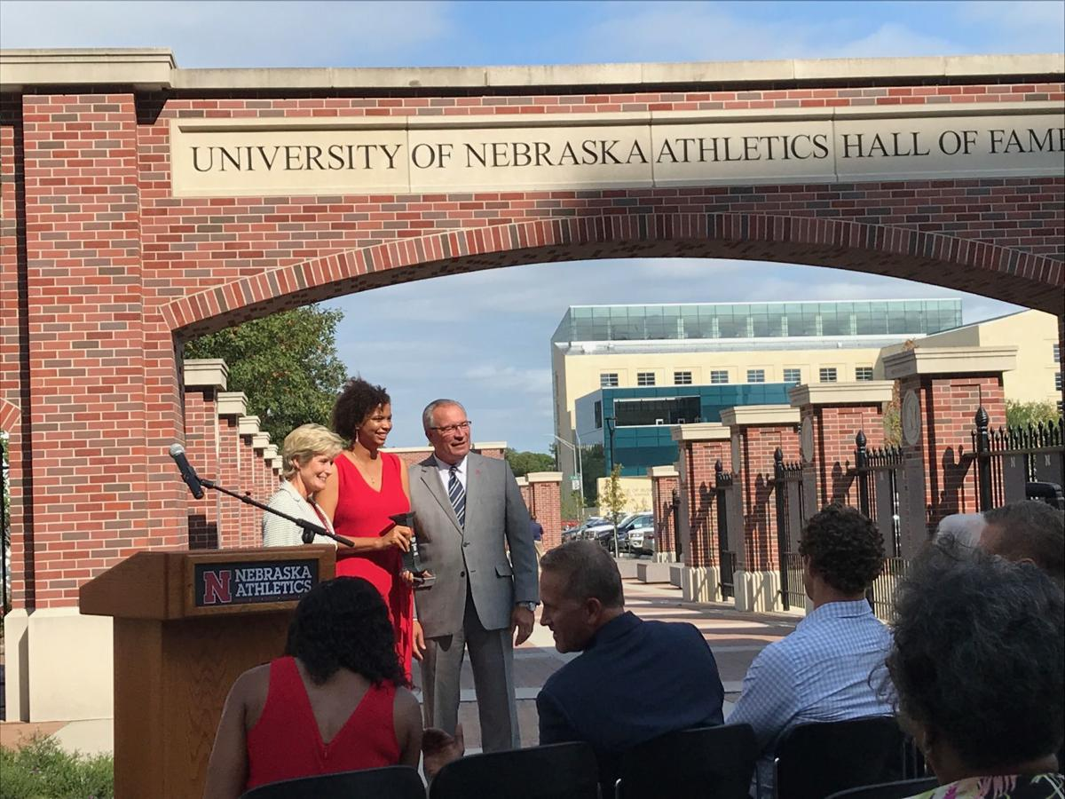 Greichaly Cepero, setter on Nebraska's 2000 national title team, joins school's hall of fame