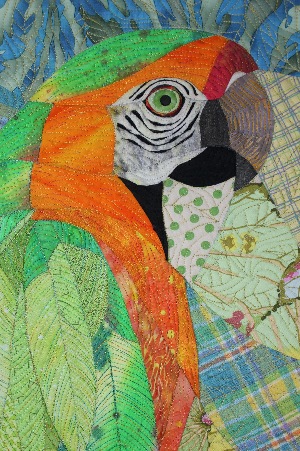 Peg macaw 2