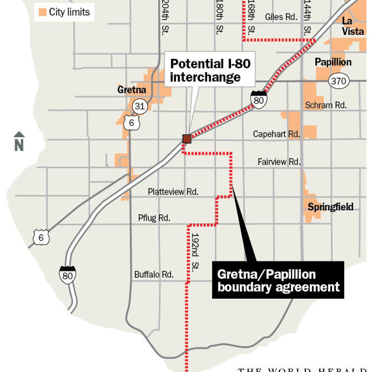 gretna approves agreement to end i-80 boundary dispute but