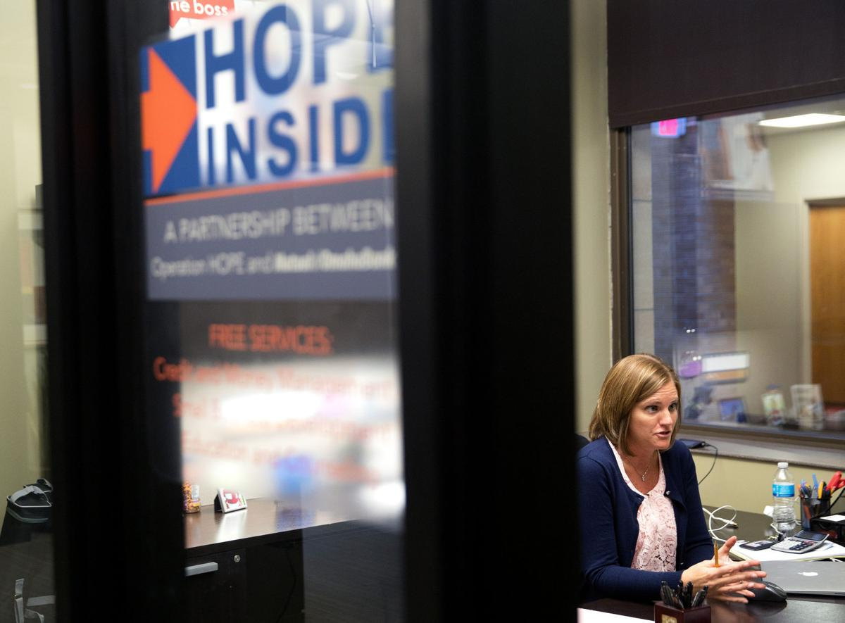 Turned down, but not out Initiative inside bank branches can help those with credit problems