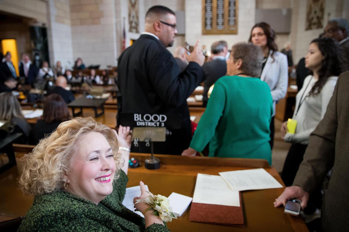 Opening day of the 2017 Nebraska Legislature