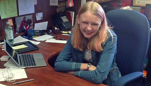 Platteview student learns all about being a principal