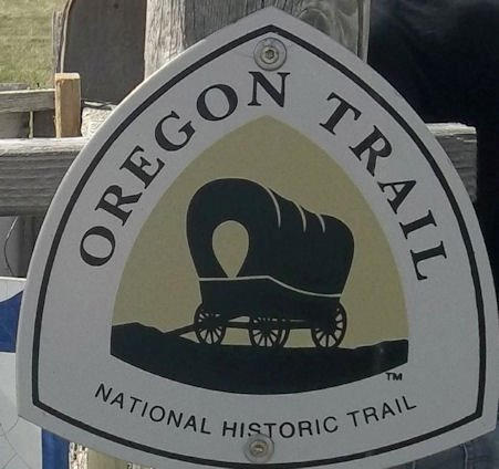 Oregon Trail National Historic Trail (logo)