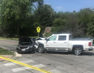Three people injured in crash at 52nd and Fort Streets Sunday