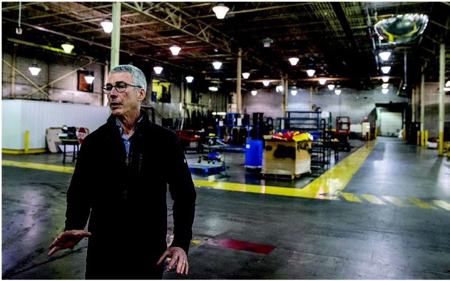 'SHOWPIECE FOR MANUFACTURING' AT SOUTH OMAHA COMPLEX