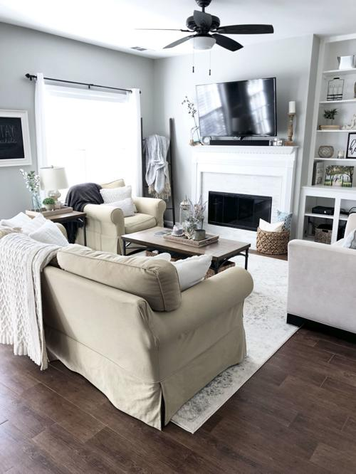 The Great Ceiling Fan Debate Inspired, Living Room Ceiling Fans