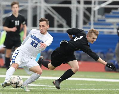 District soccer roundup: Royce Austen has two goals, two assists to rally No. 6 Kearney to state