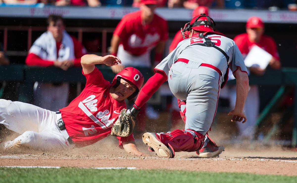 competitive price 2d68c 01619 Nebraska falls to Ohio State in Big Ten baseball title game