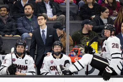UNO hockey coach Mike Gabinet says future bright for Mavs, excited to 'keep growing our program'