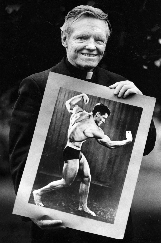 Nebraska's bodybuilding priest - 1987