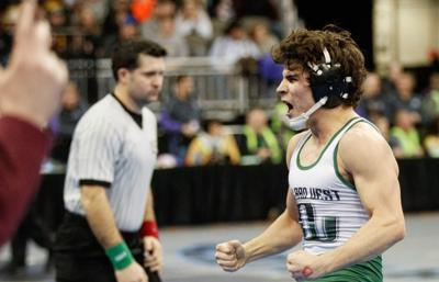 Millard West grad Camden Russell reaches 'superstar' potential with Greco-Roman national title