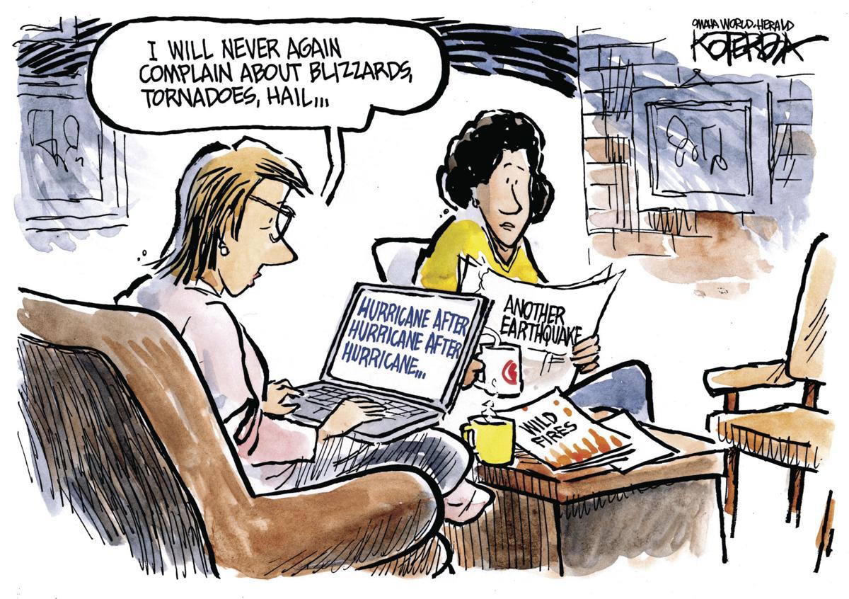 Back at You: Koterba cartoons on natural disasters - Sept. 21. 2017