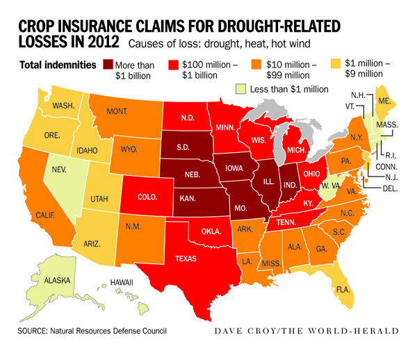 Record crop payouts continue as drought follows floods