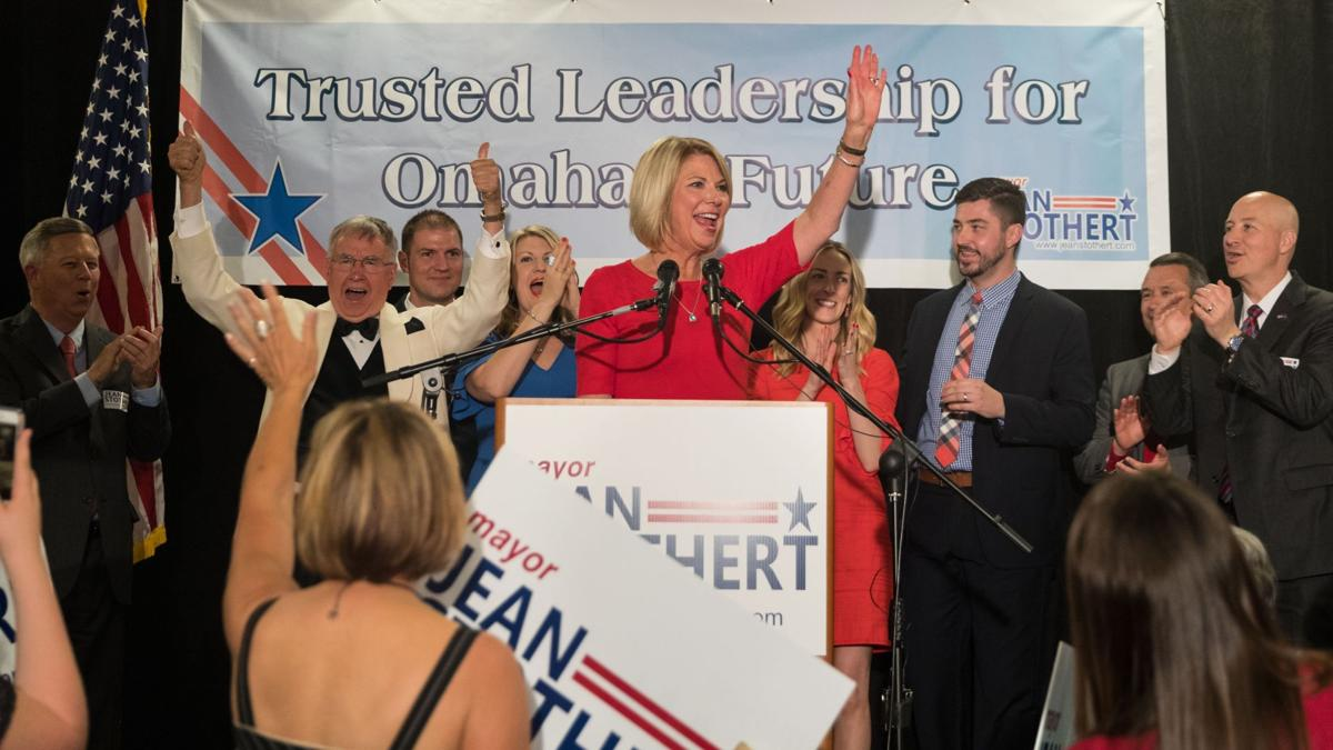 'Thank you for rehiring me': After defeating Mello in mayor's race, Stothert lays out vision for second term
